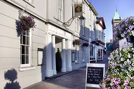 Angel hotel, Abergavenny