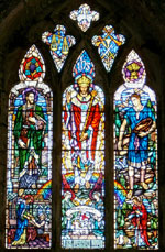 Stained Glass Window - St Teilo's