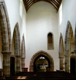 St Teilo's church interior