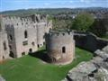 Ludlow castle from the battlements