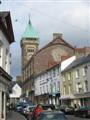 Abergavenny Town Hall from the corner of Cross Street