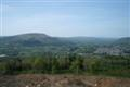 View of the Usk valley from the Little Skirrid